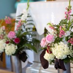 Altar Wedding Flowers 2015