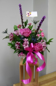 Custom floral arrangements for Mother's Day!